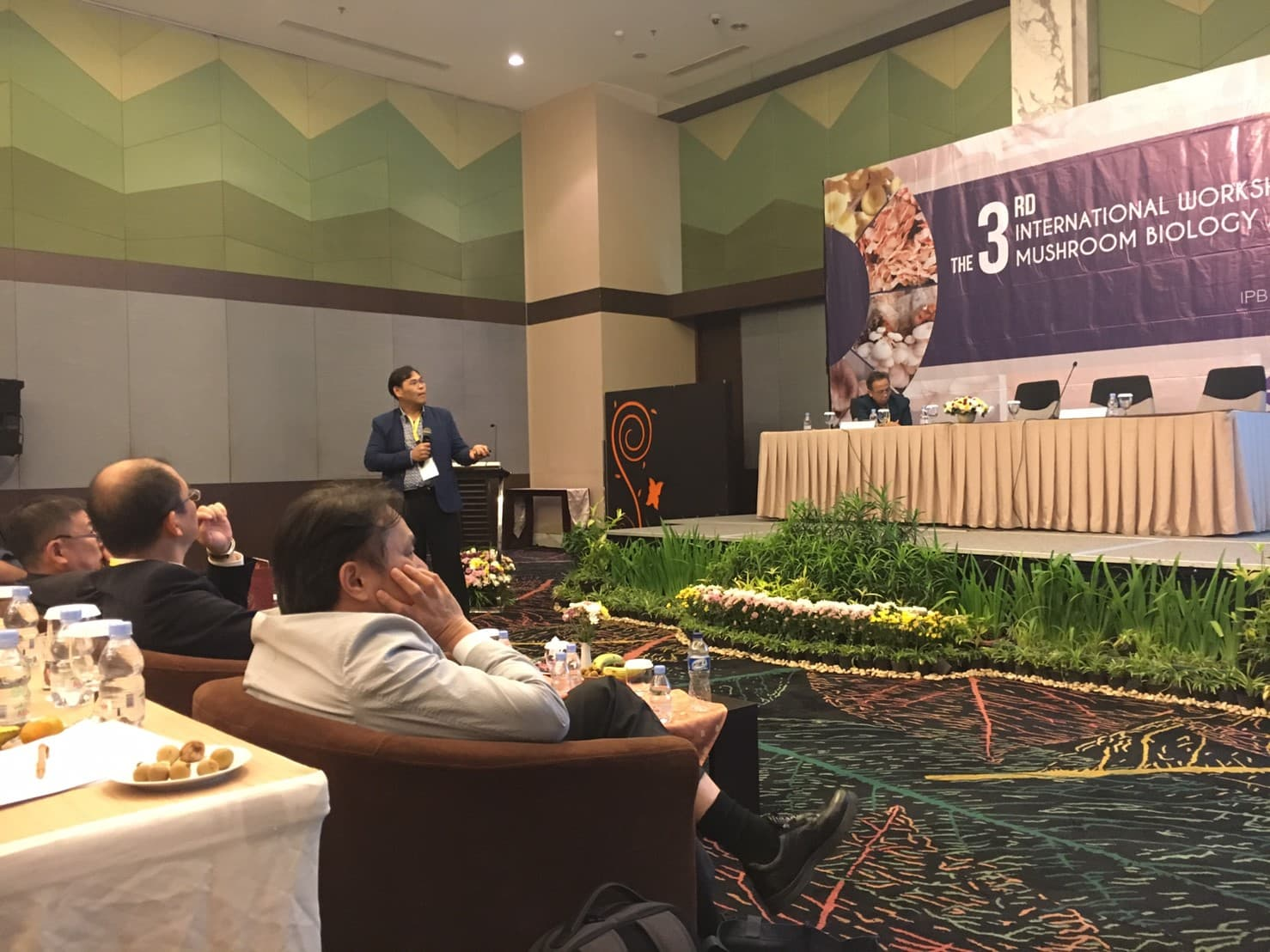 Assoc.Prof.Dr. Sophon Boonlue was an invited speaker at the International conference in Bogor, Indonesia